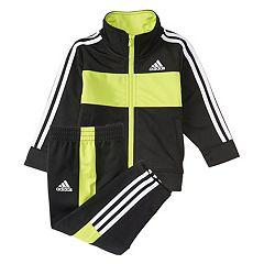 Baby Boy adidas Team Jacket & Pants Track Suit Set