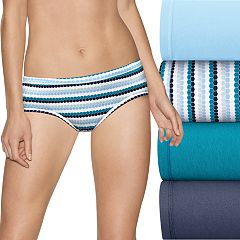Hanes Ultimate Comfort Fit 5-pack Hipster Panties 41CSW5