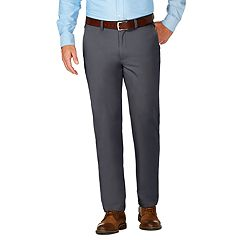 Men's J.M. Haggar Luxury Comfort Premium Flex-Waist Slim-Fit 4-Way Stretch Flat-Front Casual Pants