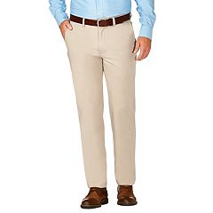 Men's J.M. Haggar Luxury Comfort Slim-Fit 4-Way Stretch Flat-Front Casual Pants
