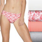 Hanes Ultimate Comfort Fit 5-pack Bikini Panties 42CSW5
