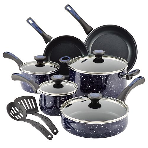 Paula Deen Riverbend 12-pc. Aluminum Nonstick Cookware Set