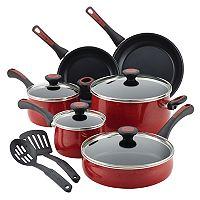 Paula Deen Riverbend 12 pc Aluminum Nonstick Cookware Set