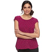 Women's ELLE™ Printed Crepe Top