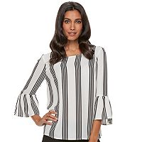 Women's ELLE™ Printed Georgette Top