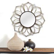 Stratton Home Decor Flower Mirror Wall Decor