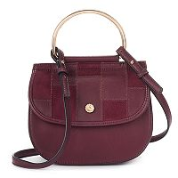 LC Lauren Conrad Delice Patchwork Flap Convertible Crossbody Bag