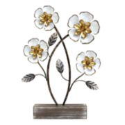Stratton Home Decor Metal Flower Table Decor