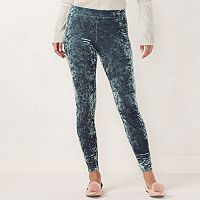 Women's LC Lauren Conrad Velvet Leggings