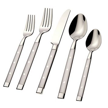 Hampton Forge Yorktown Frosted 45-pc. Flatware Set