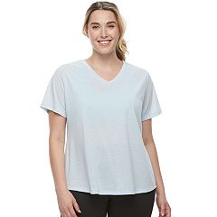 Plus Size Tek Gear DRY TEK Easy V-Neck Tee