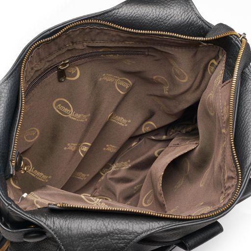 AmeriLeather Leather Satchel