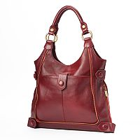 AmeriLeather Leather Satchel