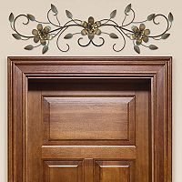 Stratton Home Decor Flower Vine Over-The-Door Wall Decor