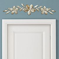Stratton Home Decor Textured Flower Over-The-Door Wall Decor