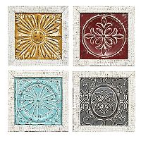 Stratton Home Decor Medallion Wall Decor 4-piece Set