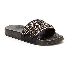 Unionbay Chainup Women's Slide Sandals
