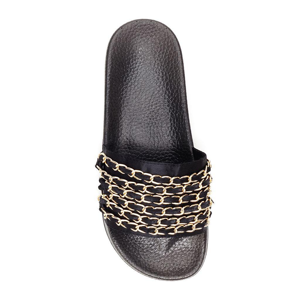 Union Bay Chainup Women's Slide Sandals