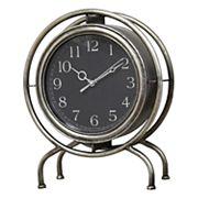 Stratton Home Decor Industrial Clock Table Decor
