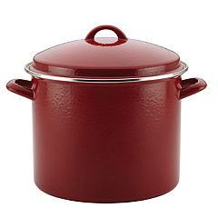Paula Deen Enamel on Steel 12-qt. Stockpot