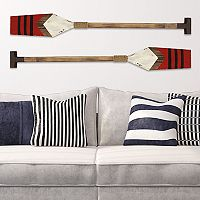 Stratton Home Decor Nautical Oar Wall Decor