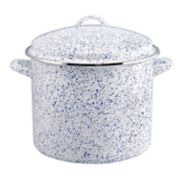 Paula Deen Enamel on Steel Seaspray 12-qt. Stockpot