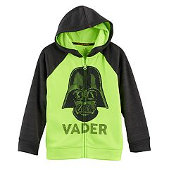Boys 4-7x Star Wars a Collection for Kohl's Star Wars Darth Vader Zipper Hoodie