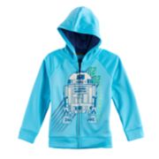 Boys 4-7x Star Wars a Collection for Kohl's Glow-in-the-Dark R2-D2 Zipper Hoodie