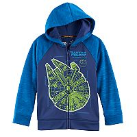Boys 4-7x Star Wars a Collection for Kohl's Star Wars Millenium Falcon Zipper Hoodie