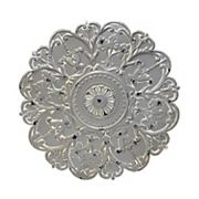 Stratton Home Decor Gray Medallion Wall Decor