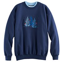 Women's Holiday Embroidered Sweatshirt