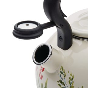 Paula Deen Signature Garden 2-qt. Enamel on Steel Rooster Teakettle