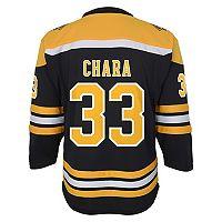 Boys 8-20 Boston Bruins Zdeno Chára Replica Jersey