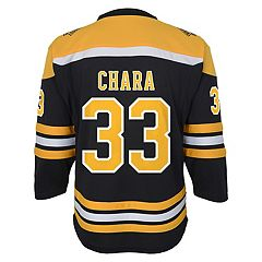 Boys 8-20 Boston Bruins Zdeno Chára Replica Jersey