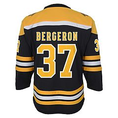 Boys 8-20 Boston Bruins Patrice Bergeron Replica Jersey