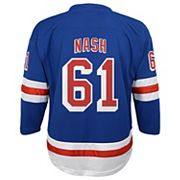 Boys 8-20 New York Rangers Rick Nash Replica Jersey