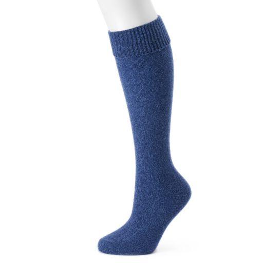 Women's Cuddl Duds Seed Stitch Cuff Over-the-Knee Socks