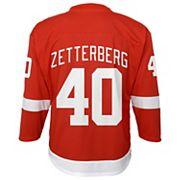 Boys 8-20 Detroit Red Wings Henrik Zetterberg Replica Jersey