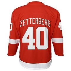 Boys 8-20 Detroit Red Wings Henrik Zetterberg Replica Jersey