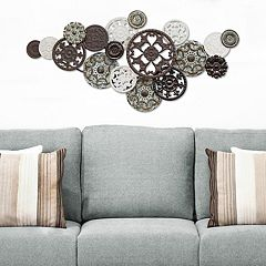 Stratton Home Decor Medallion Cluster Wall Decor