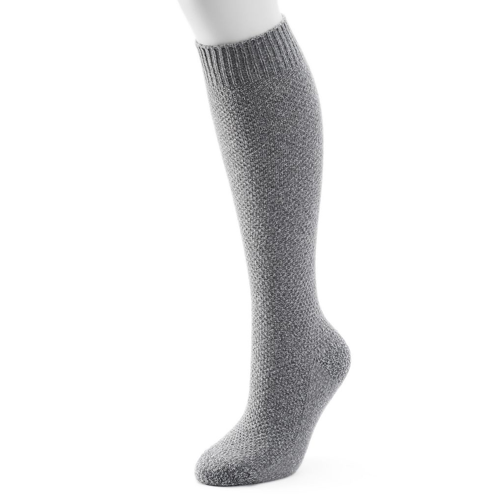 Women's Cuddl Duds Seed Stitch Knee High Socks