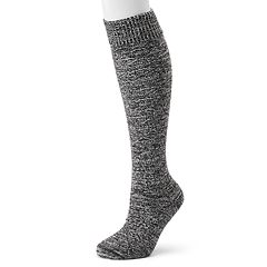 Women's Cuddl Duds Marled Over-the-Knee Socks