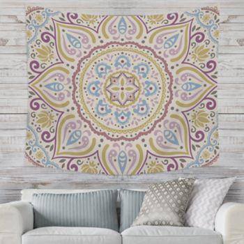 Stratton Home Decor Medallion Kaleidoscope Wall Tapestry