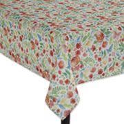 Celebrate Spring Together Bright Floral Tablecloth