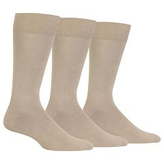 Men's Chaps 3-pack Supersoft Crew Socks