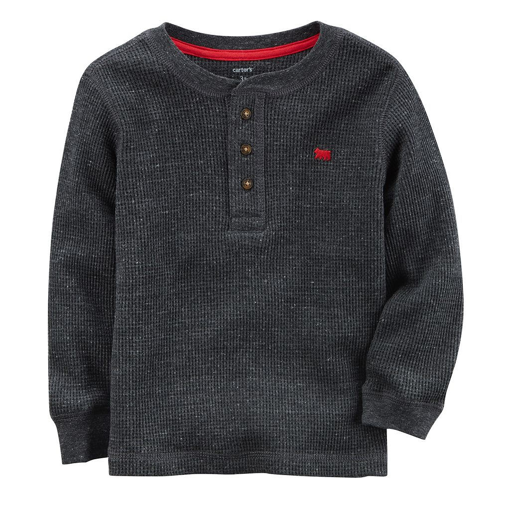 Boys 4-8 Carter's Thermal Henley