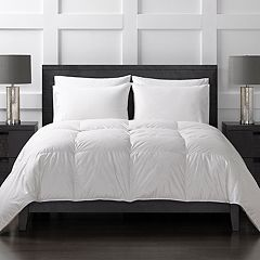 Sharper Image 370 Thread Count Extra Warmth Down-Alternative Comforter