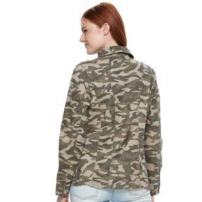 Juniors' Mudd® Twill Utility Jacket