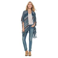 Women's SONOMA Goods for Life™ Slubby Striped Kimono