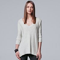 Women's Simply Vera Vera Wang Poncho Sweater